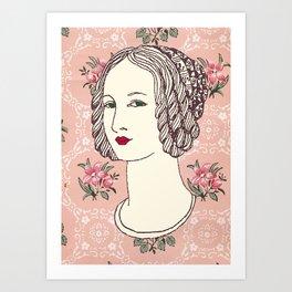 Lady IV Art Print