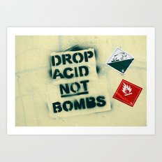 Alternative Pacifism  Art Print