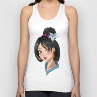 mulan Tank Tops featuring [Mulan] Bride by Underground Cities