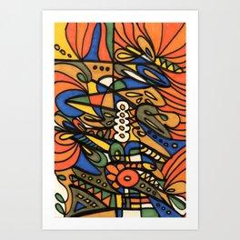 Make Art for Yourself Art Print