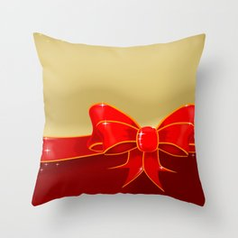 Matalic Cleff Throw Pillow