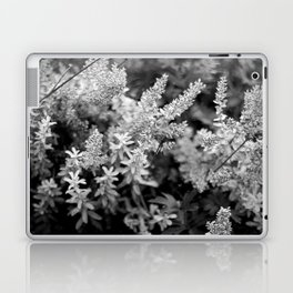 Leaves black n white Laptop & iPad Skin