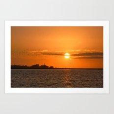 Sunrise Migration Art Print