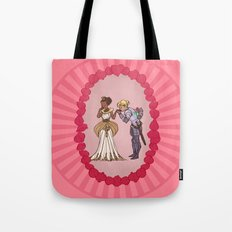 The Queen and Her Knight Tote Bag