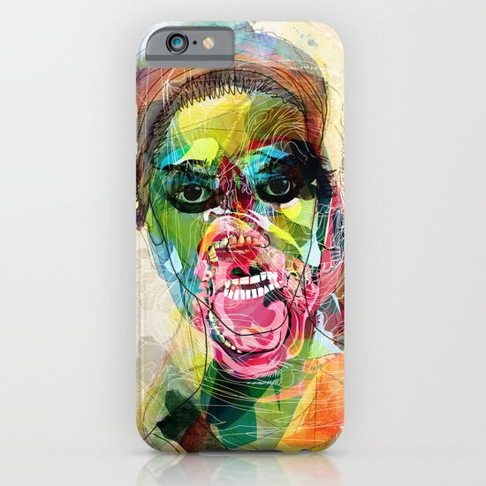 The human beast iPhone & iPod Case