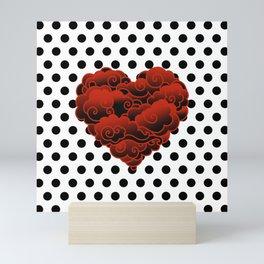 LOVE POINT Mini Art Print