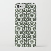 221b iPhone & iPod Cases featuring 221b Wallpaper by rogueleader