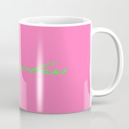 Flawless Pink & Green Coffee Mug