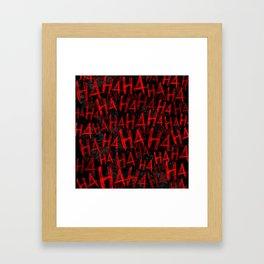 Hah Framed Art Print