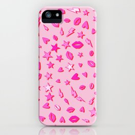 Eighties All Pop Pattern iPhone Case