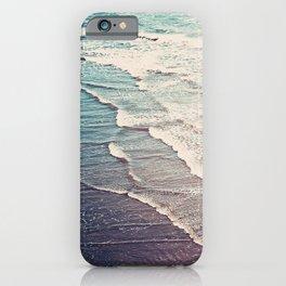 Ocean Waves Retro iPhone Case