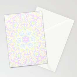 Pastel Kaleidoscope 1 Stationery Cards