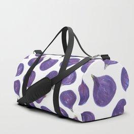 Watercolor figs pattern Duffle Bag