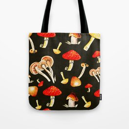 Brigt Mushrooms Tote Bag