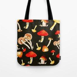 Brigt Mushrooms Tote Bag