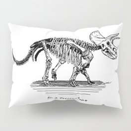 Figure Two: Triceratops Pillow Sham