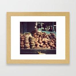 Bagel Framed Art Print