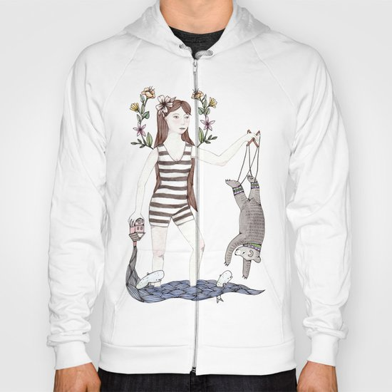 Dangle Bear Hoody