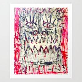 Esprit du Primitif Art Print