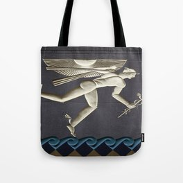 Herald of the Greek Gods in NYC Tote Bag
