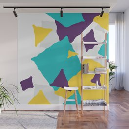 Abstract Geometric shapes texture Wall Mural