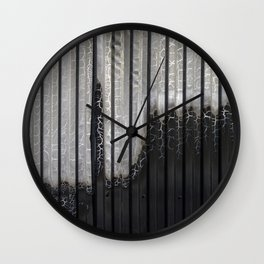 After the fire. Wall Clock
