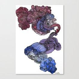 obsesión Canvas Print