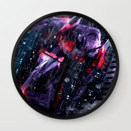 Evangelion NERV Eva 01 Wall Clock