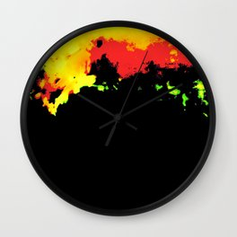 Eruptions Wall Clock