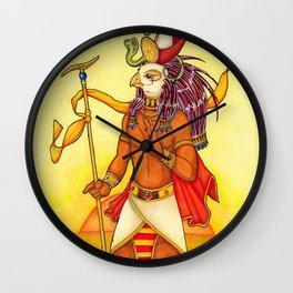 Heruakhety-Ra /Horus on the Horizon / Ra Wall Clock