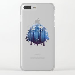 The Forest Clear iPhone Case