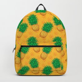 Cannabis Collection: Green & Gold Backpack