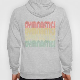 Gymnastics Retro Design Hoody