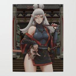 Paya - Samurai Poster