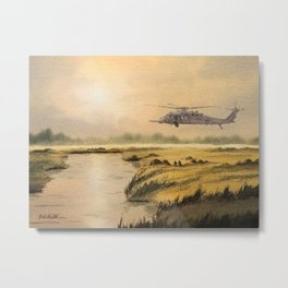 HH-60 Pave Hawk Helicopter Metal Print
