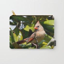 Madam Cardinal Carry-All Pouch