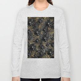 Tropical Diamond Flowers #2 #shiny #chic #floral #palms #decor #art #society6 Long Sleeve T-shirt