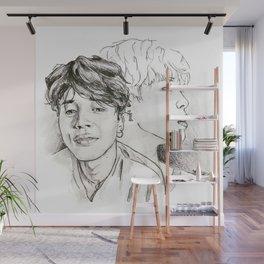 Smirk Wall Mural