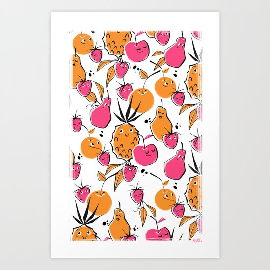 Fruit Punch  Art Print