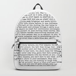 Only once in your life...B. Marley Backpack