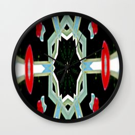 Space Traveller Wall Clock