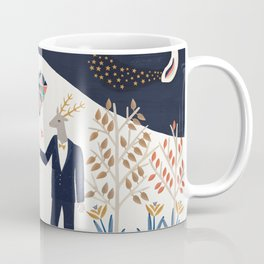 The stag finally found his unicorn Coffee Mug