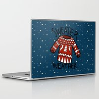 sweater Laptop & iPad Skins featuring Sweater by Mr and Mrs Quirynen