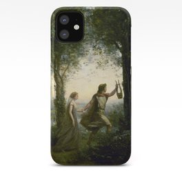 "Jean-Baptiste-Camille Corot ""Orpheus Leading Eurydice from the Underworld"" iPhone Case"