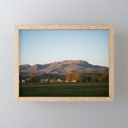 Idaho Mountains Framed Mini Art Print
