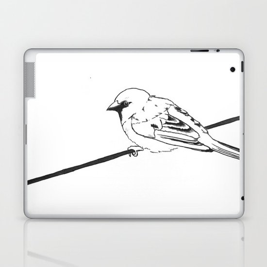 On a Wire Laptop & iPad Skin