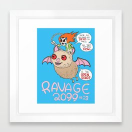 Ravage 2099 Framed Art Print