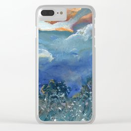 Outdoors at Dusk - New Zealand Landscape Clear iPhone Case