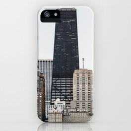 Oak Street Beach & The Gold Coast iPhone Case