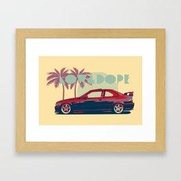 Bmw e36  Framed Art Print